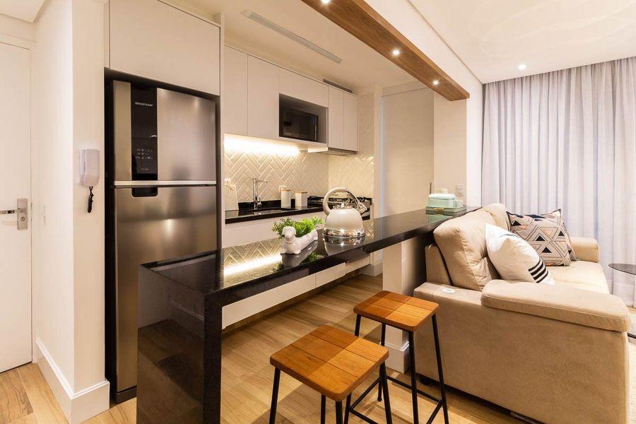 Integrar sala e cozinha
