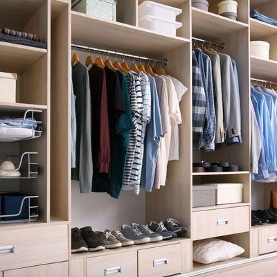 Móveis sob medida para closet