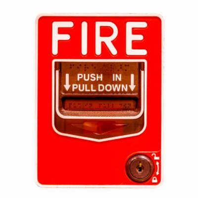Sistema de alarme e detecção de incêndios