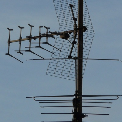 Antena receptora de sinal digital externa