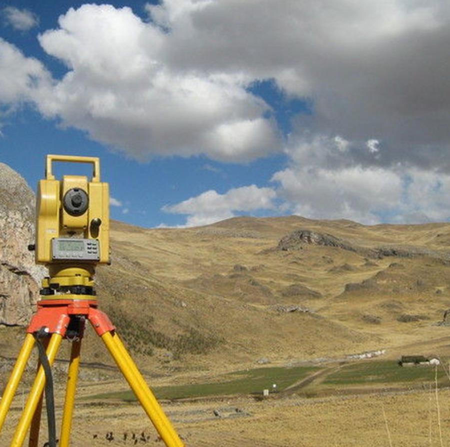 Estudo geotécnico para obras