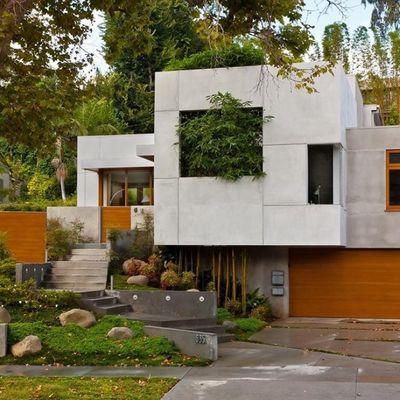 Casa pré-fabricada de concreto