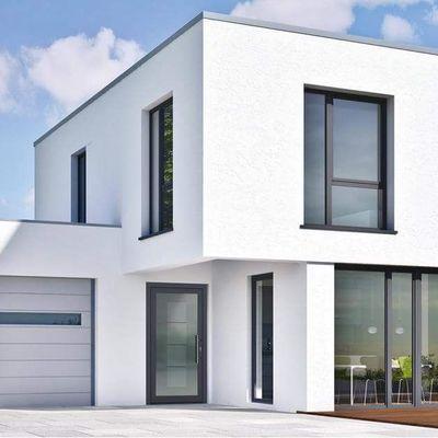 Casa pré-fabricada de PVC