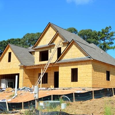 Casa pré-fabricada em wood frame