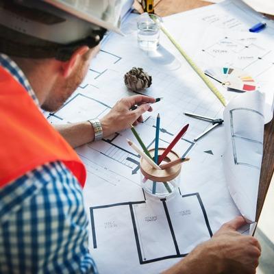 Construção da casa tem início com o projeto