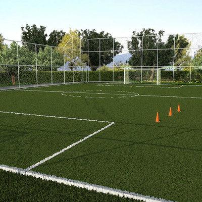 Demarcar linhas do campo de futebol