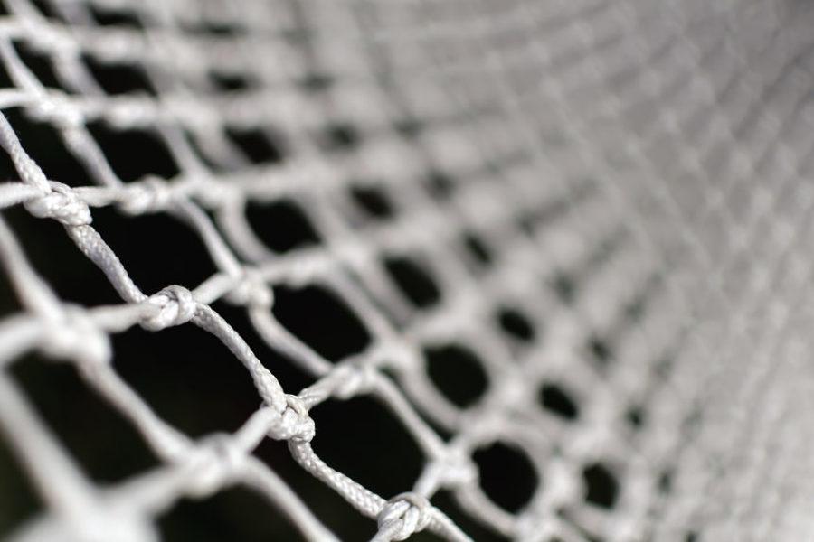 Redes de proteção em escadas: