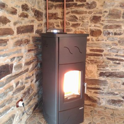 Instalação de aquecedores de ambiente