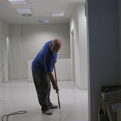 Instalação de piso