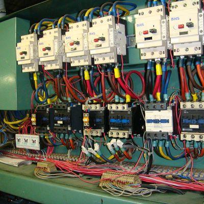 Instalação elétrica parcial industrial