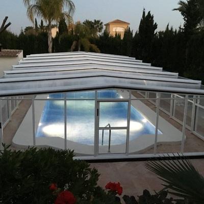 Instalar coberturas em piscinas