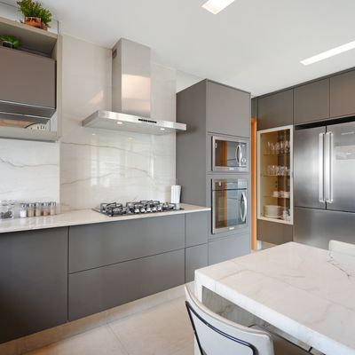 Instalar piso de granito na cozinha
