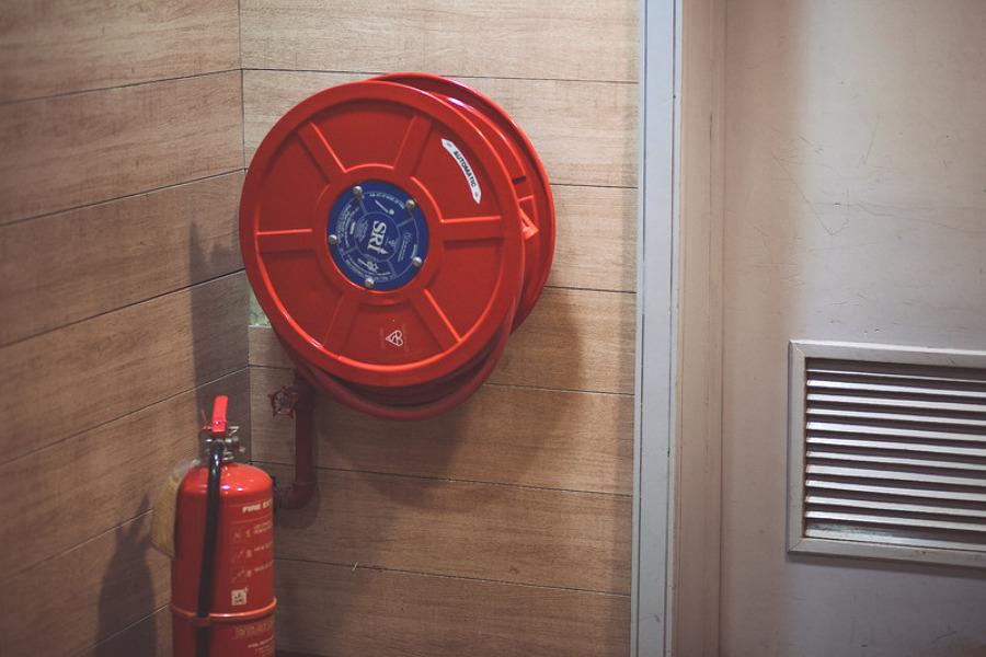 Manutenção preventiva contra incêndio