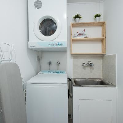 Móveis sob medida lavanderia