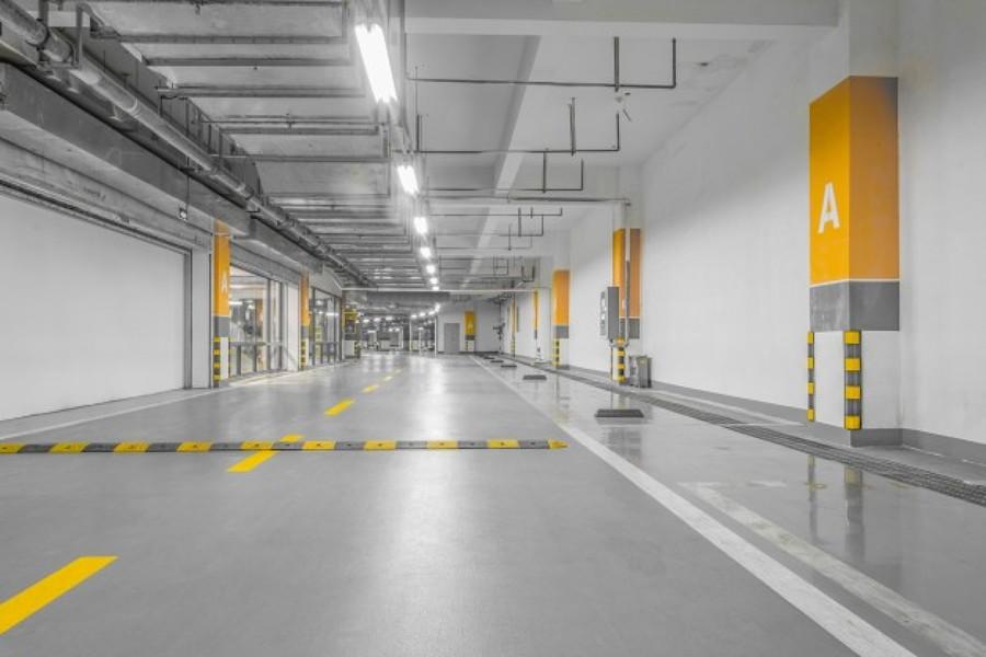 Pavimento contínuo de concreto armado