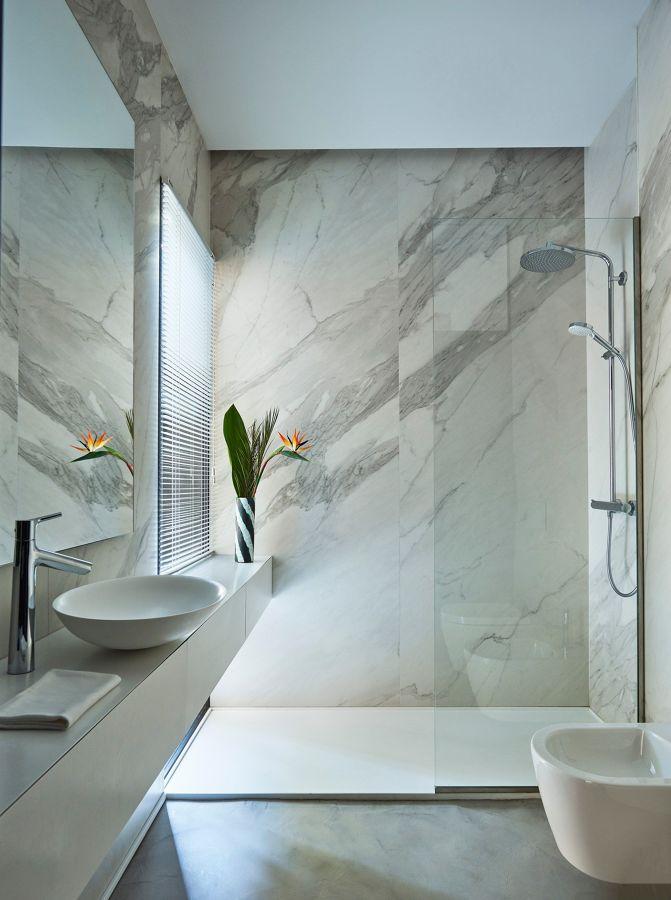 Colocar mármore ou granito no banheiro