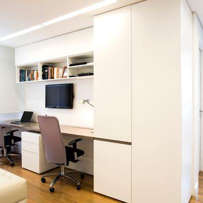 Decoração de escritório simples