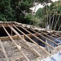 1° Fase da reforma do telhado Ilha bela