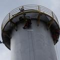 Trabalhos Verticais, on shore, inspeção vertical