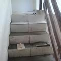 área de ventilaça e subida para o 2° andar