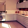 Bancada de cozinha em porcelanato