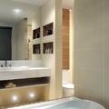 Banheiro com Nicho e banheira