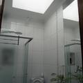 Banheiro sem condições de janela