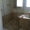 Banheiro suite master.