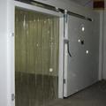 Câmara para resfriados com porta de correr.