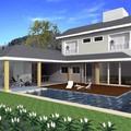 Casa Florida, 381m2 - Destaque para areas externas com deck, espaco gourmet e academia