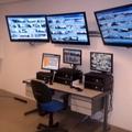 CFTV - Central de Monitoramento.
