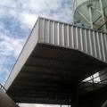 Cobertura dos pontos de carga e dosadores da concreteira