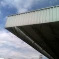 Cobertura dos pontos de cargas e dosadores da concreteira