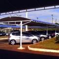 Cobertura em lona ou policarbonato para estacionamento