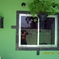 colocação de pedras decorativas em torno de janelas