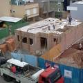 concretagem da lage do piso terreo