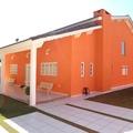 Construção de casa médio padrão