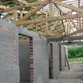 construção do telhado