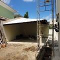 Construção externa Quiosque