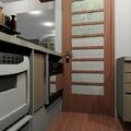 Cozinha compactada  com espaço para maquina lavar louças