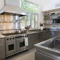cozinha em aço inox