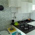 Cozinha pequena otimizada!
