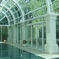 cúpula com vidro curvo