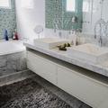 Banheiro Master no apartamento no Morumbi