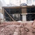 Elevação das estruturas em concreto armado
