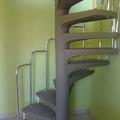 Escada caracol de concreto jcampos /Navegantes SC