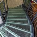 Escada com Patamares de Vidro