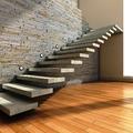 Escada Reta com Viga Interna