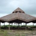 Estrutura em eucalipto e cobertura em piaçava-quiosquedabahia@yahoo.com.br
