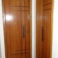 Exemplo de porta de madeira